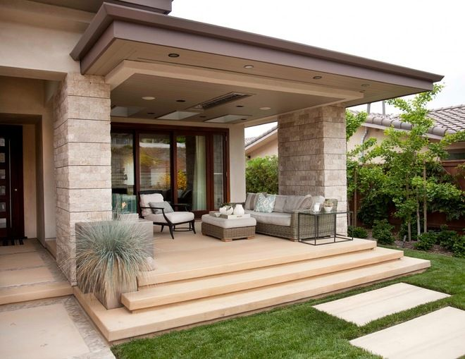 2 Key Ways To Give Your Front Porch a Modern Update